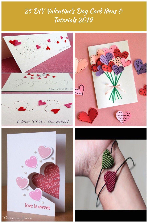 Valentine S Day Diy Card Ideas Paper Pierced Valentine S Card Diy Valentines 25 Diy