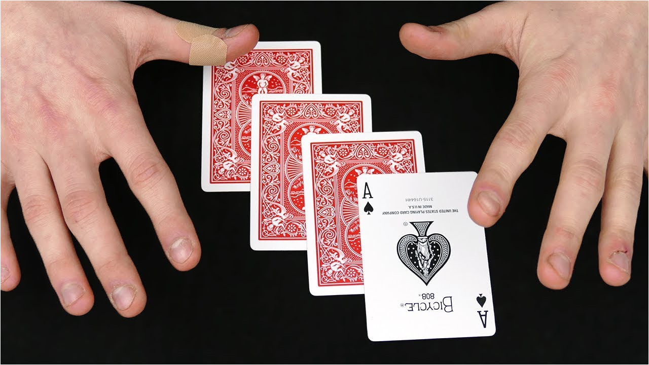 very easy card tricks to learn  williamsonga