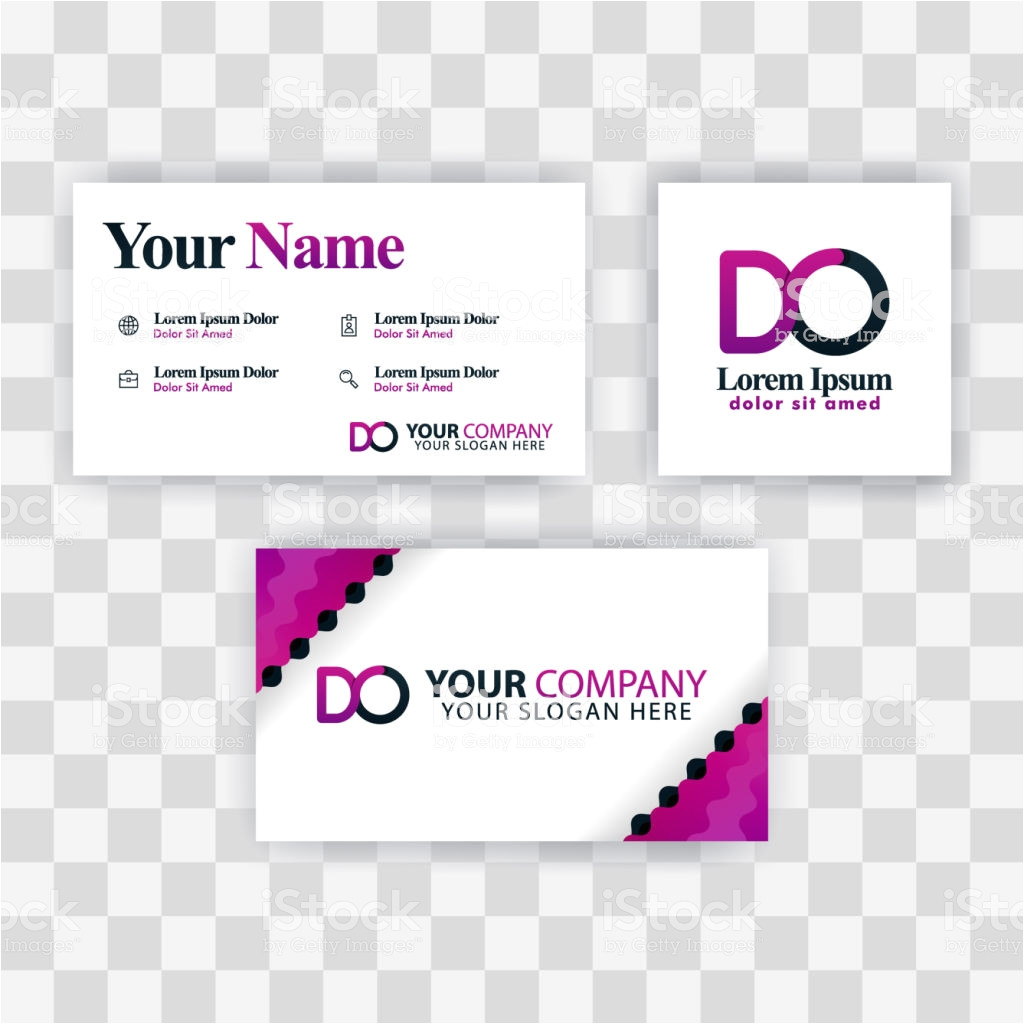clean business card template concept vector purple modern creative od vector id1166516876