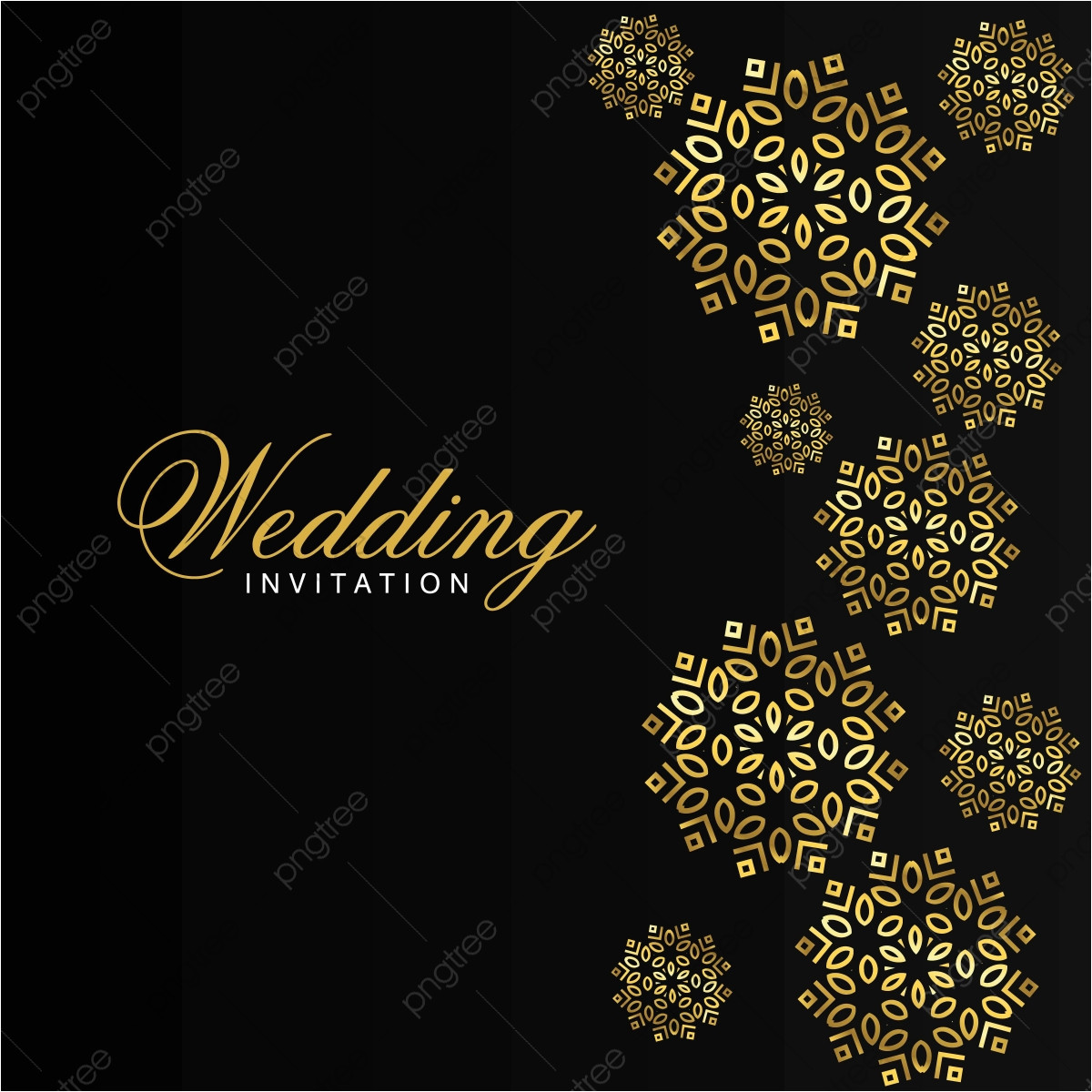 pngtree wedding card with creative design and elegent style png image 3733802 jpg