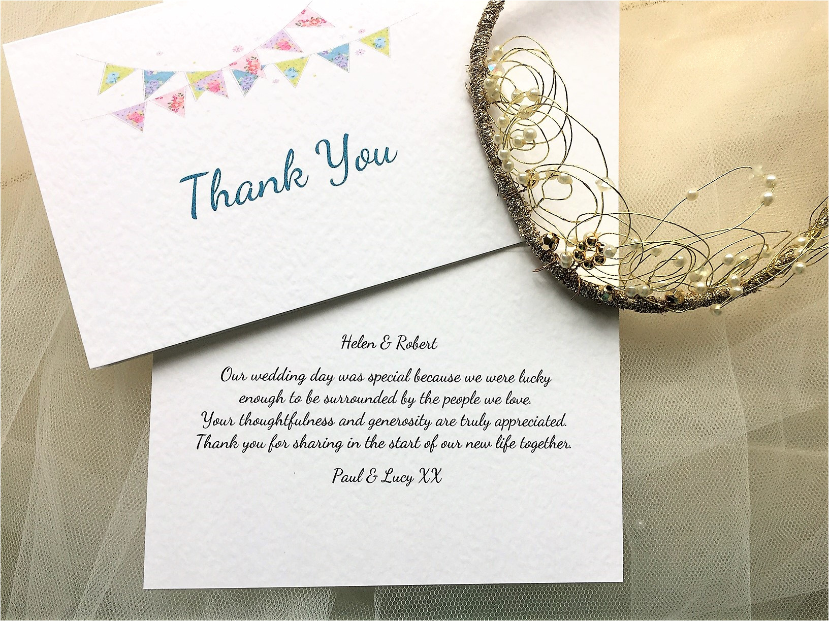 summer bunting thank you cards 3 jpg