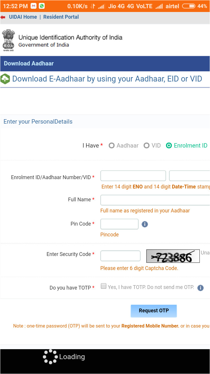 what is eid and vid in aadhar card  williamsonga