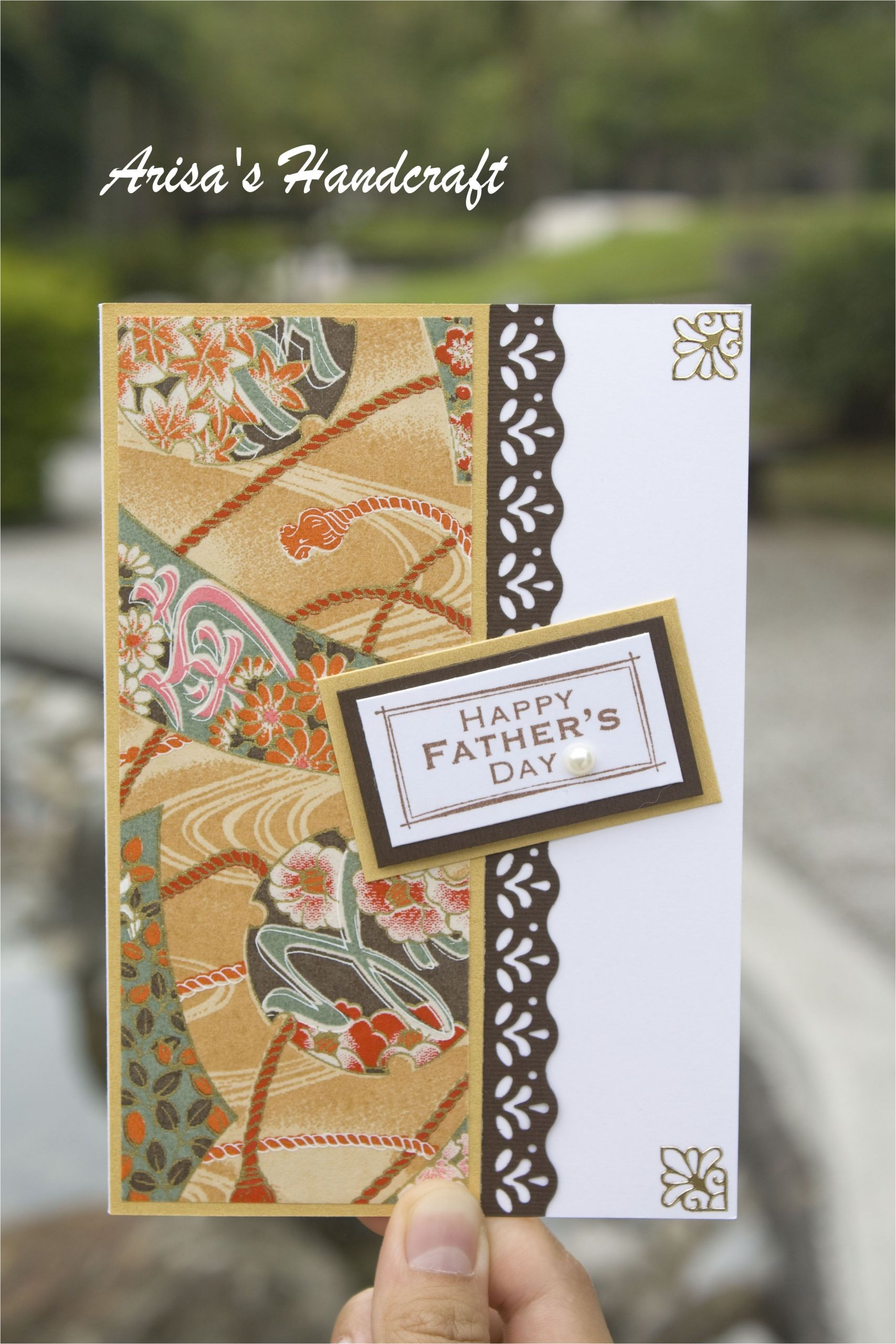 What Kind Of Flower Buys A Father S Day Card Pin by Arisa On Arisa A C E Ae A A Paper Crafts Scrapbooking
