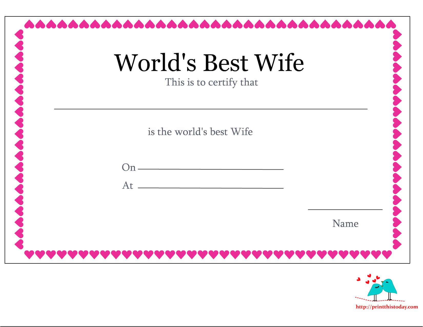love certificate 11 png