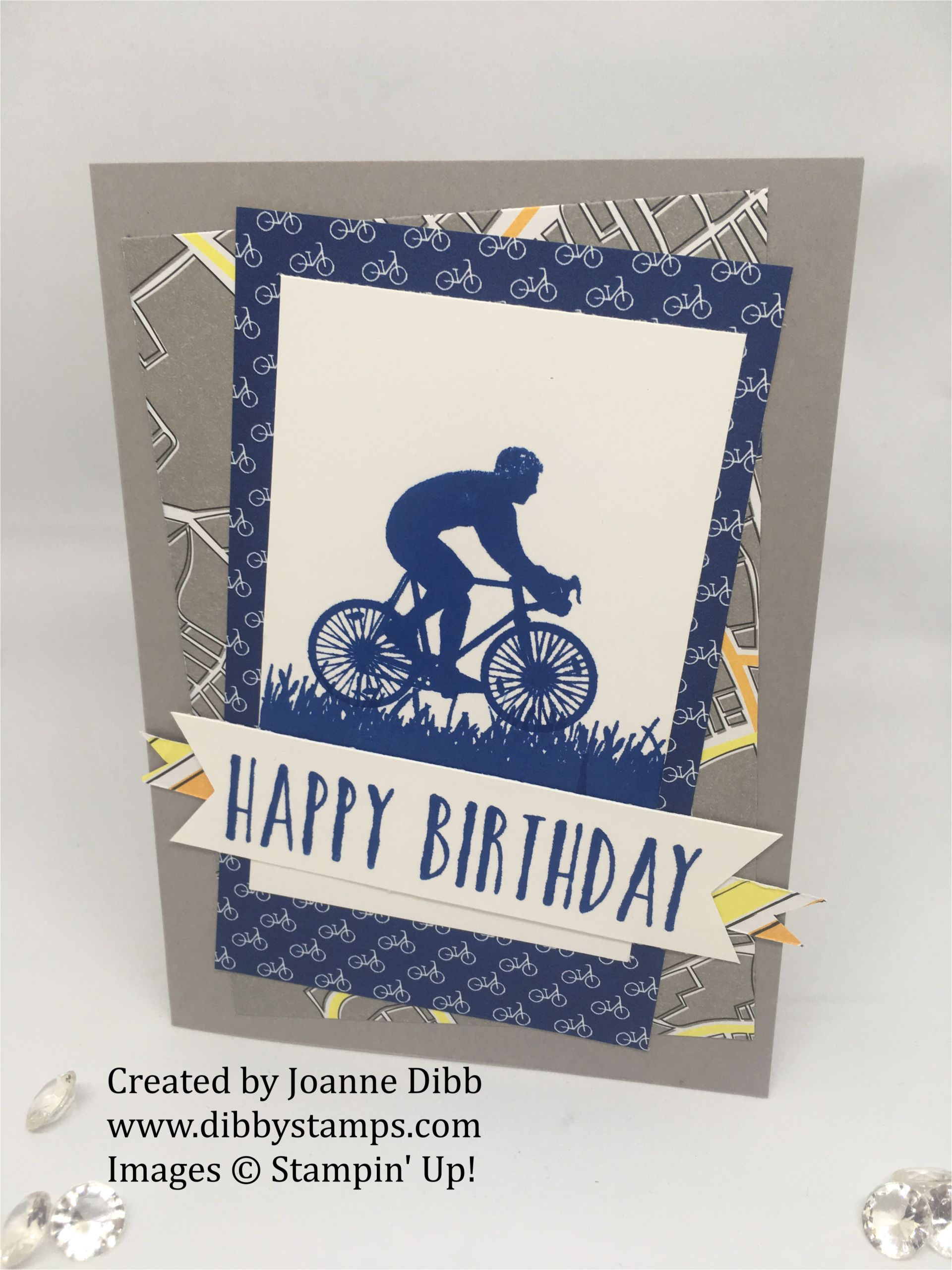 bushell birthday bike card png