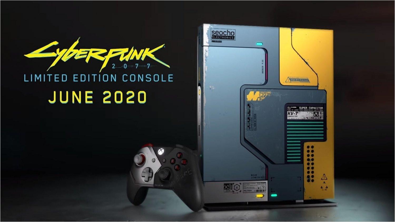 71881 01 xbox one cyberpunk 2077 limited edition console glows in the dark full jpg