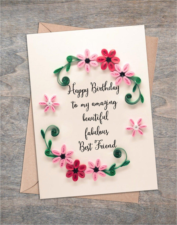 best friend birthday card girlfriend