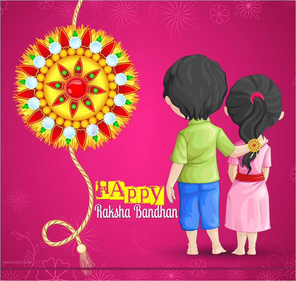 raksha bandhan messages greetings wallpapers
