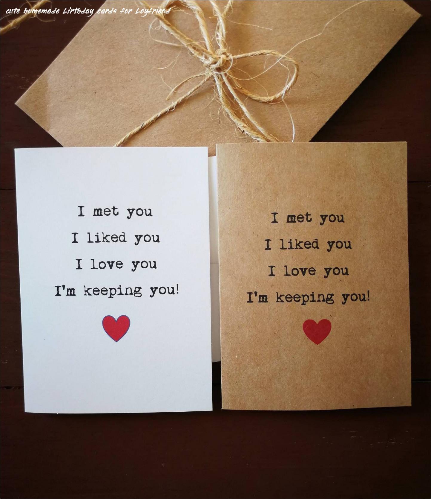 6 cute homemade birthday cards for boyfriend