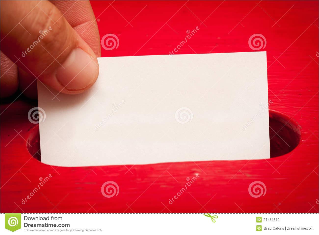 stock photo blank vote card image