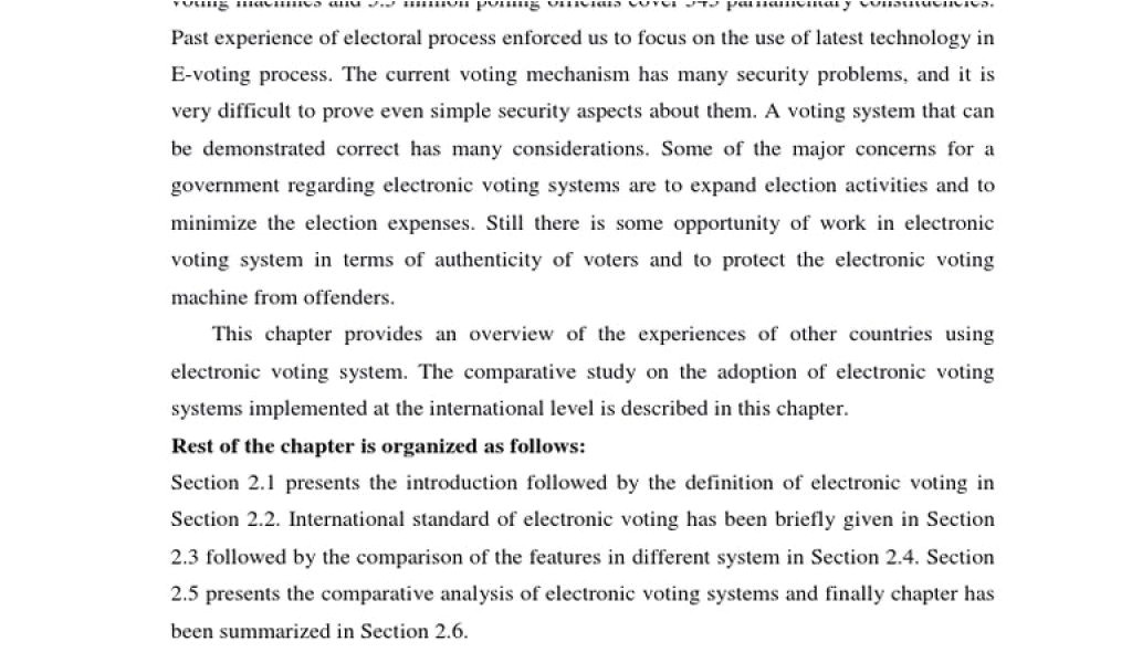 blank voter id card pdf literature survey pdf electronic voting biometrics