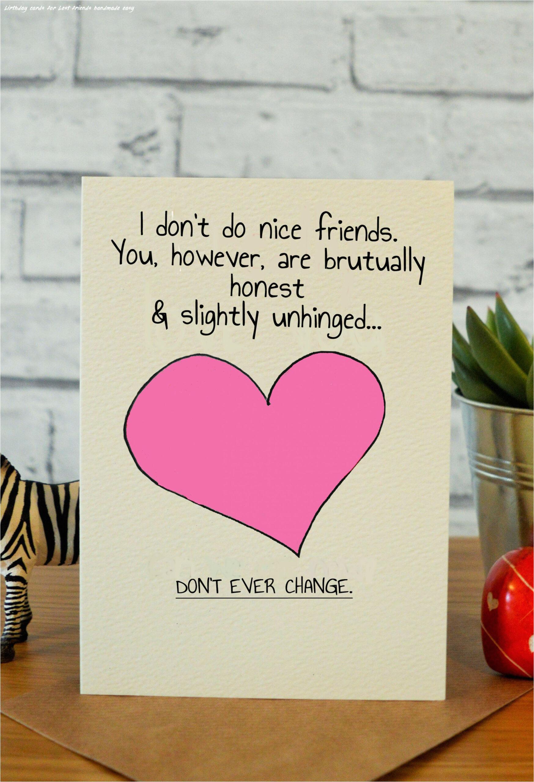 7 birthday cards for best friends handmade easy