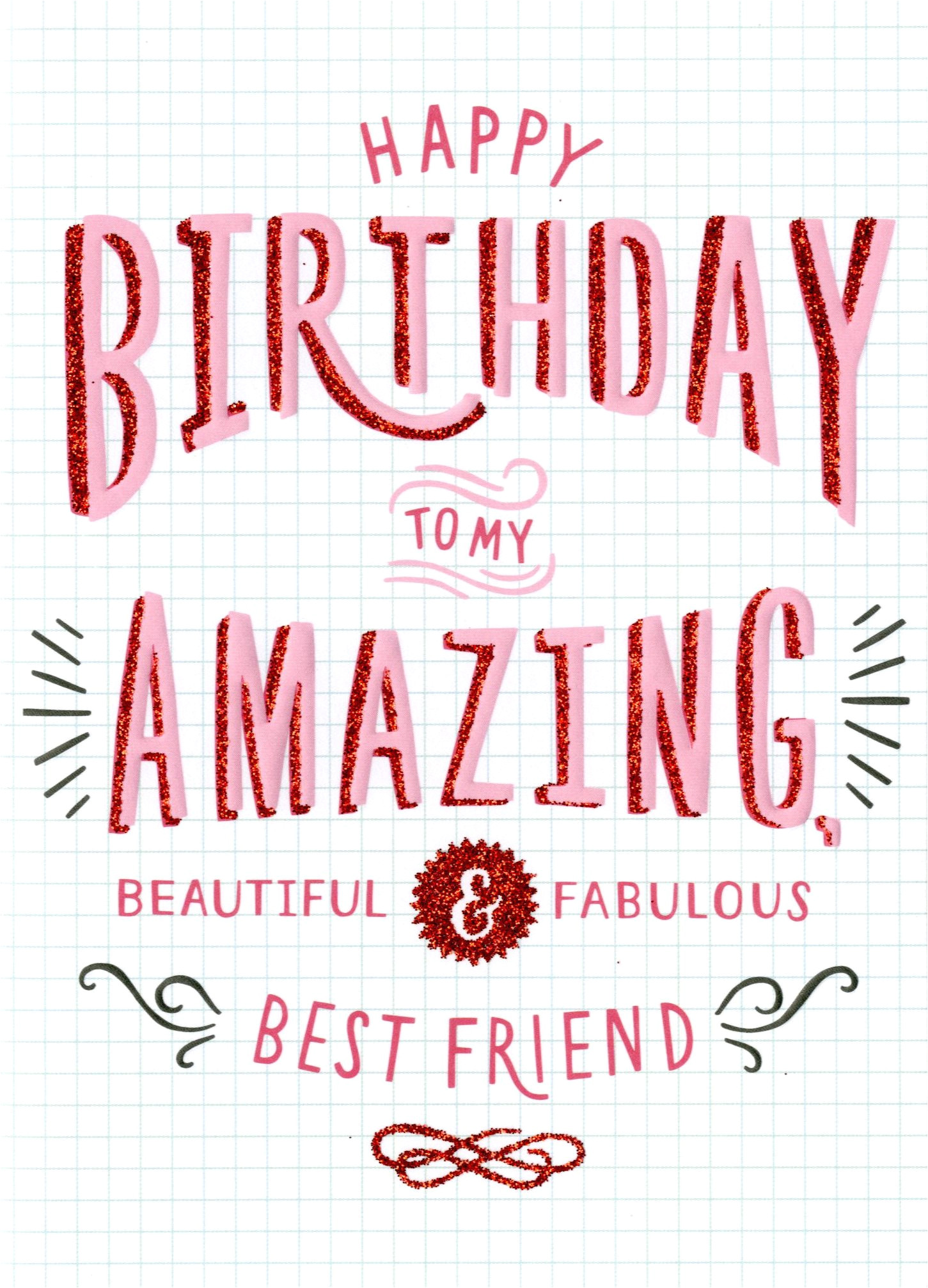 kcsnhmt002 amazing best friend birthday card second nature more than words cards