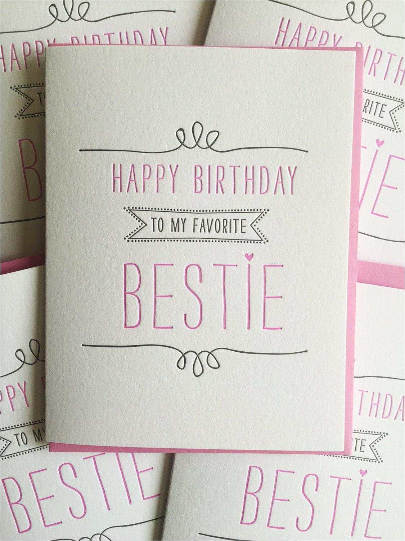 birthday card for best friend card best