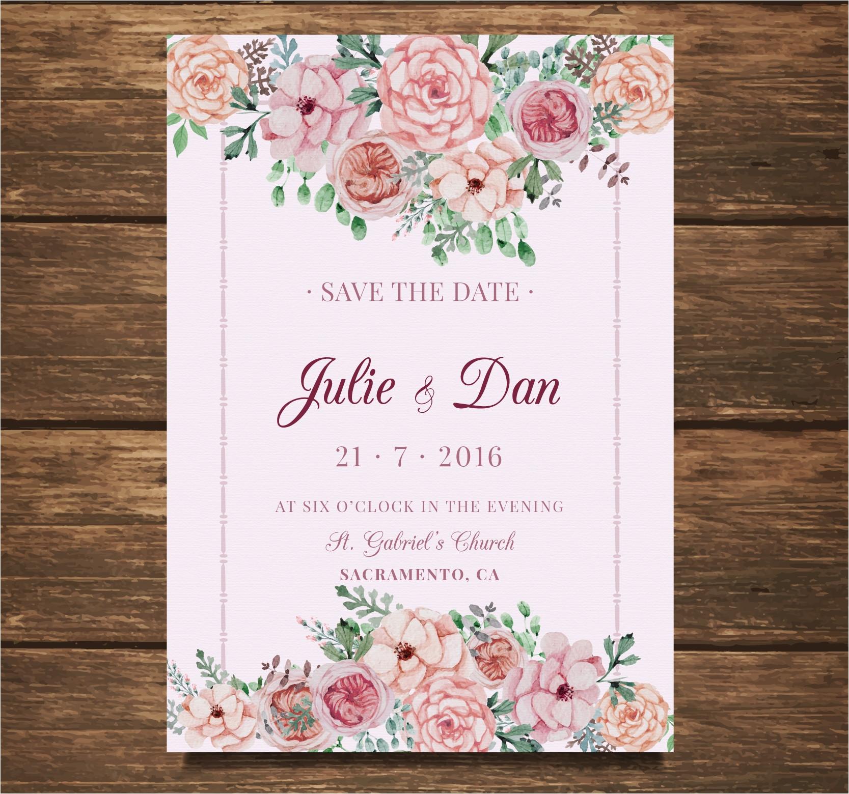 wedding card invitation designs