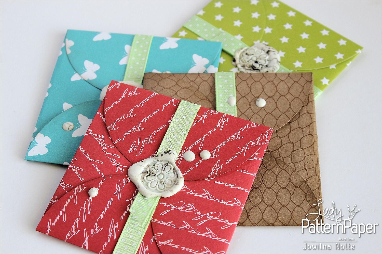 handmade t card envelopes