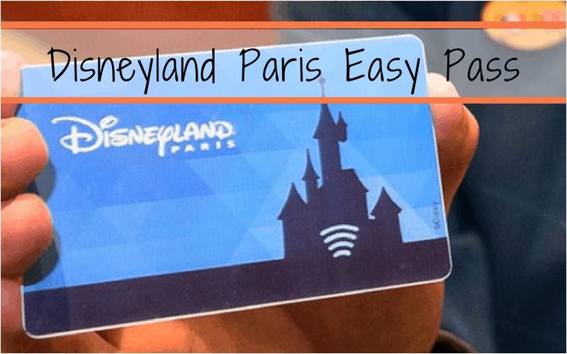 disneyland paris hotel easy pass