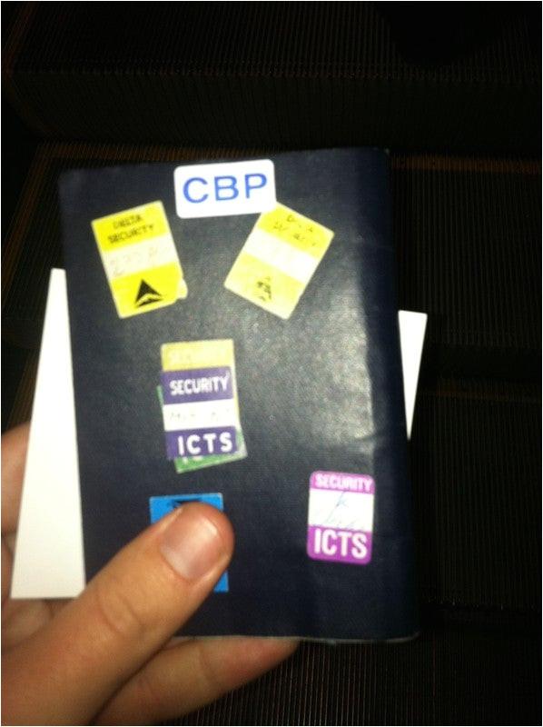 global entry no longer put cbp sticker passport 3