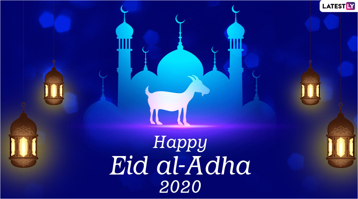 happy eid al adha 2020 images and hd wallpapers for free online wish bakrid mubarak with whatsapp stickers and greetings to family and friends