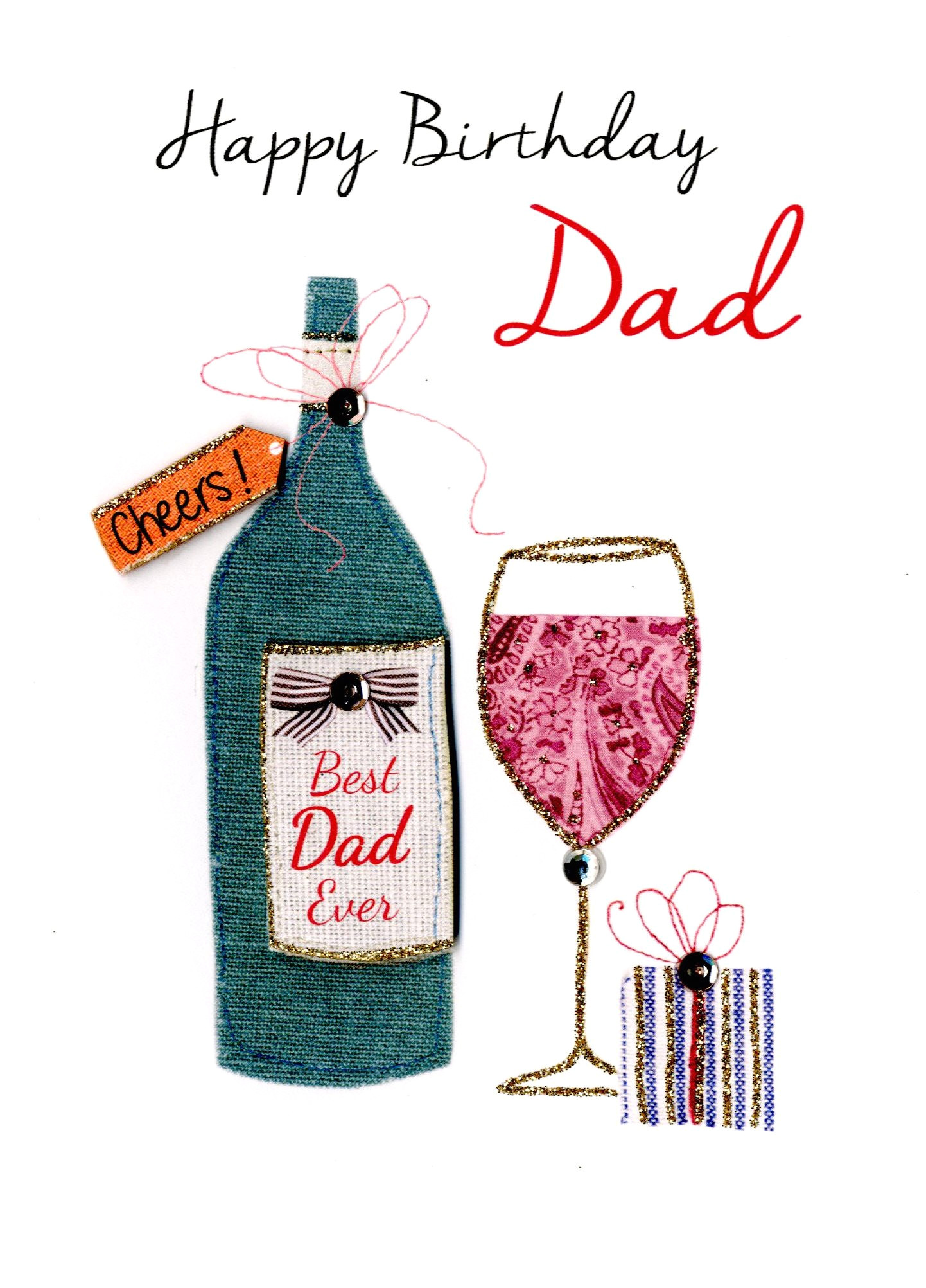kcsnjt072 best dad ever happy birthday greeting card second nature just to say cards