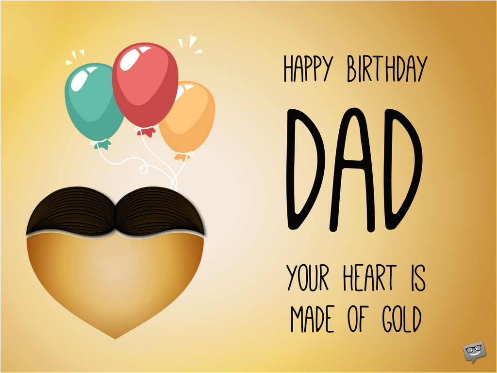 birthday greetings for dad wishes for your father