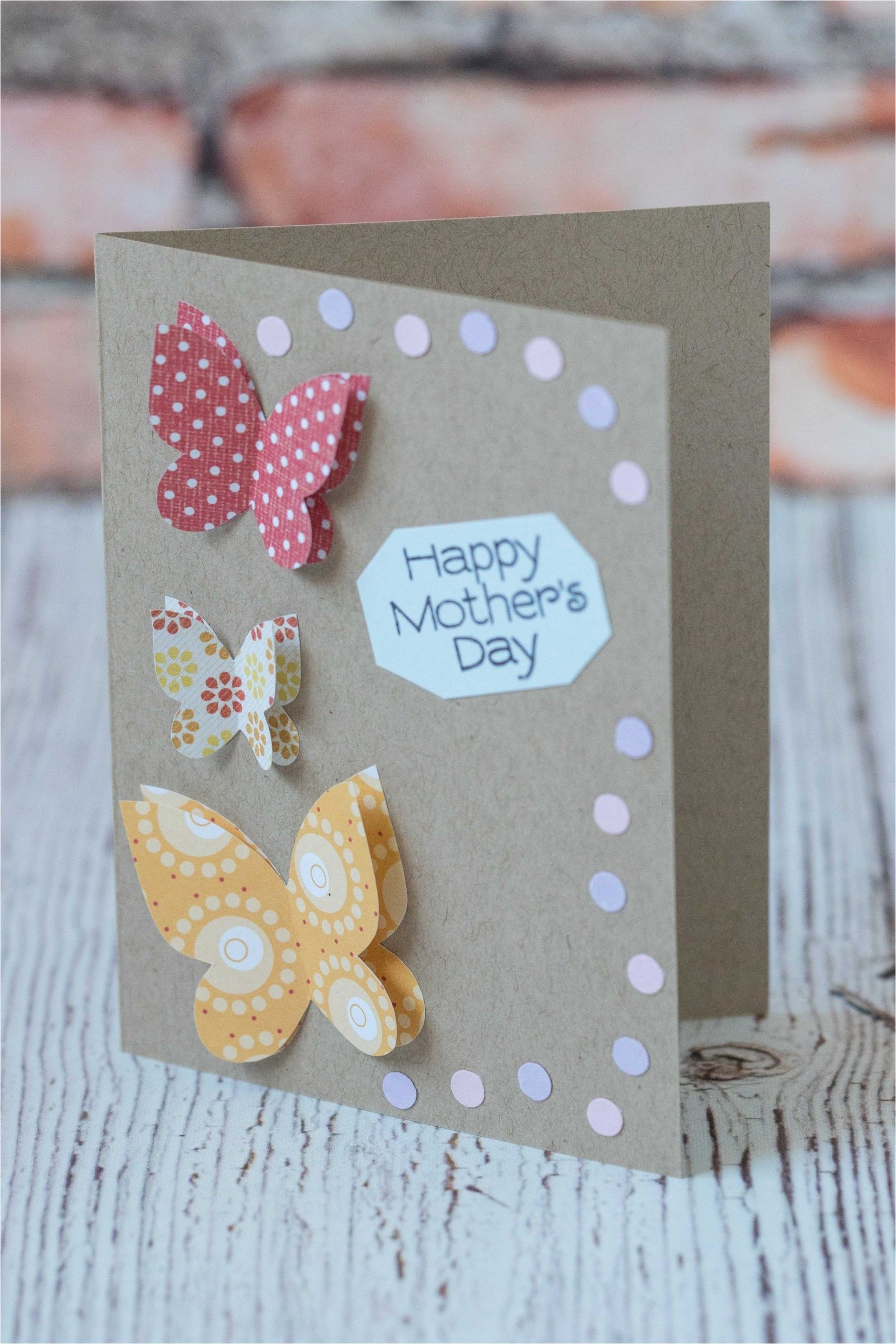 Happy Mothers Day Diy Card 10 Simple Diy Mother S Day Cards