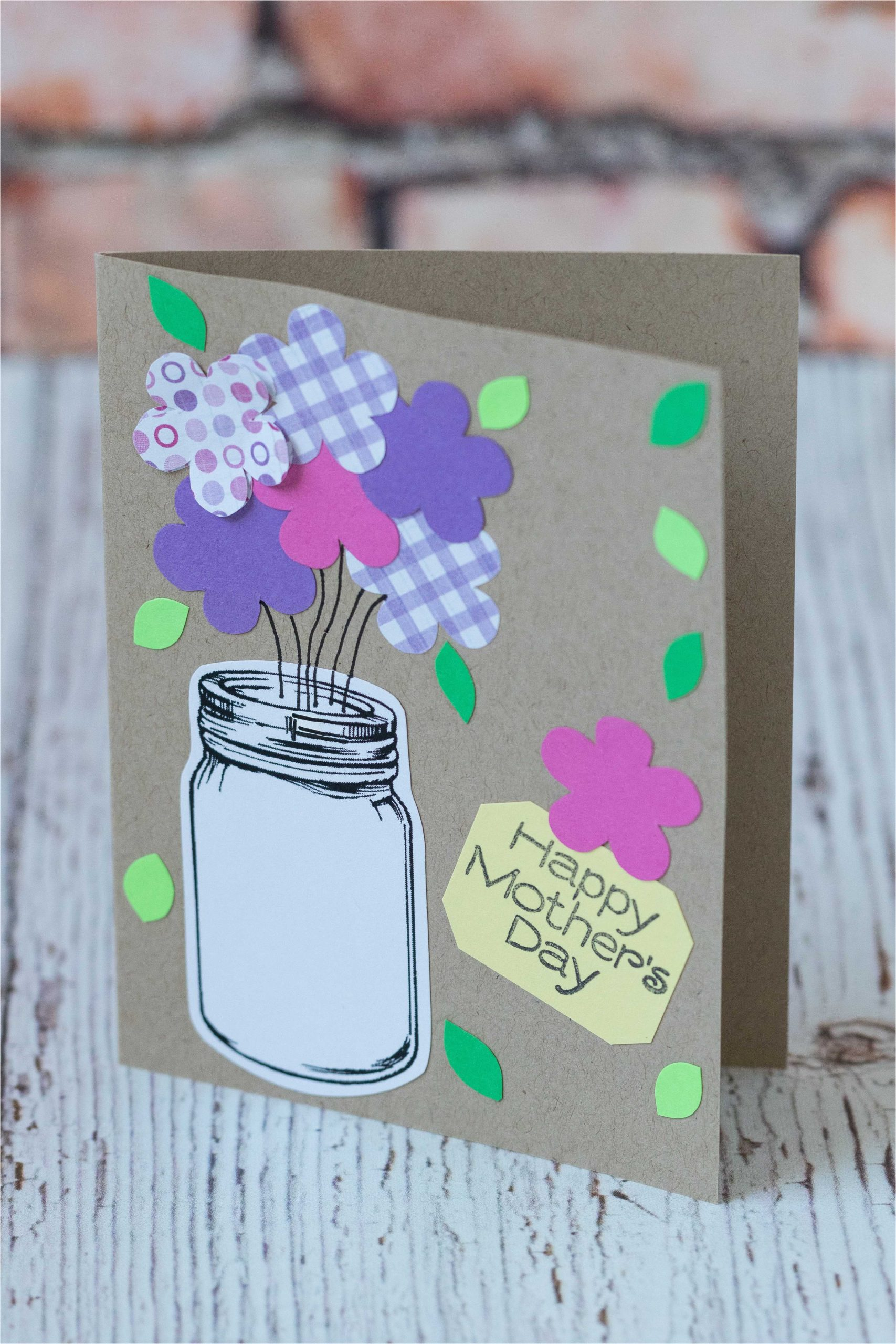 10 simple diy mothers day cards