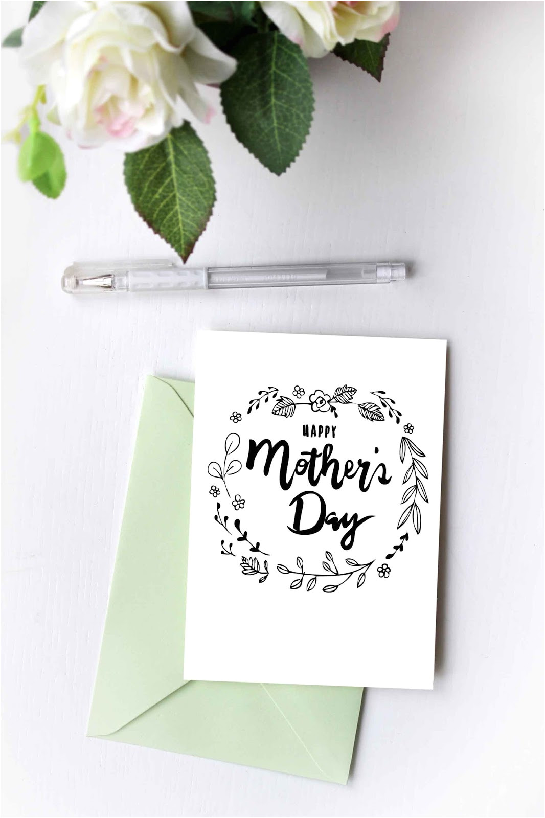 free mothers day card printable