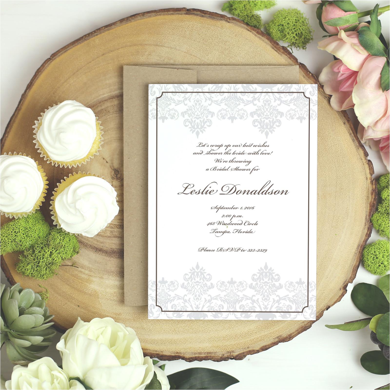 stylish wedding invitation cards