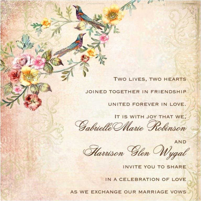 wedding invitation wording for indian wedding invitation cards