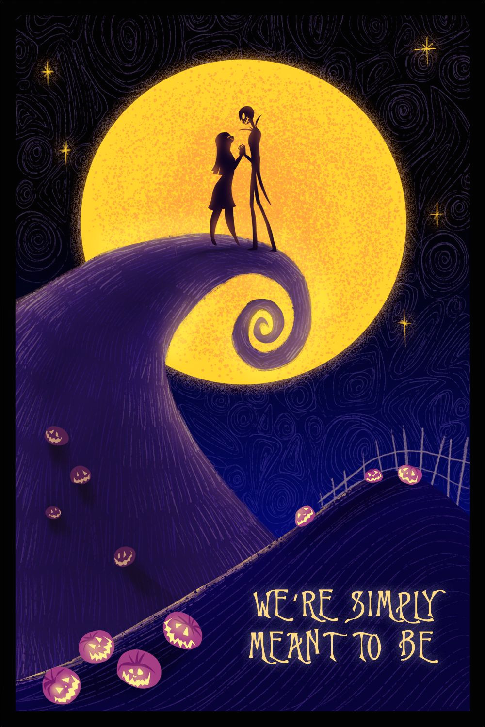 Jack and Sally Valentine Card Adorable Disney Valentine's Day Cards