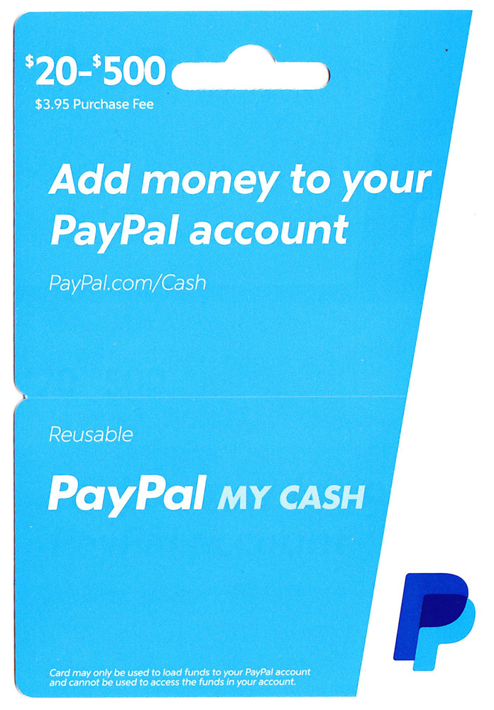 does dollar general reload paypal cards