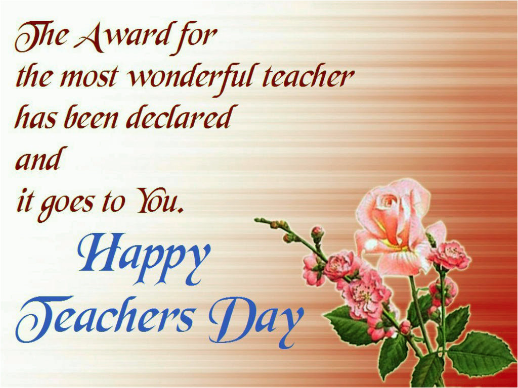 Message for Teachers Day Card English Happy Teachers Day Greeting Cards 2019 Free Download