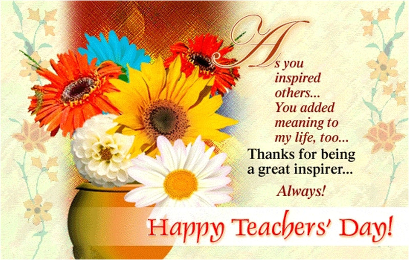 happy teachers day wishes messages