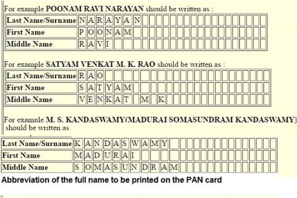 name in pan card passport aadhaar indian naming system