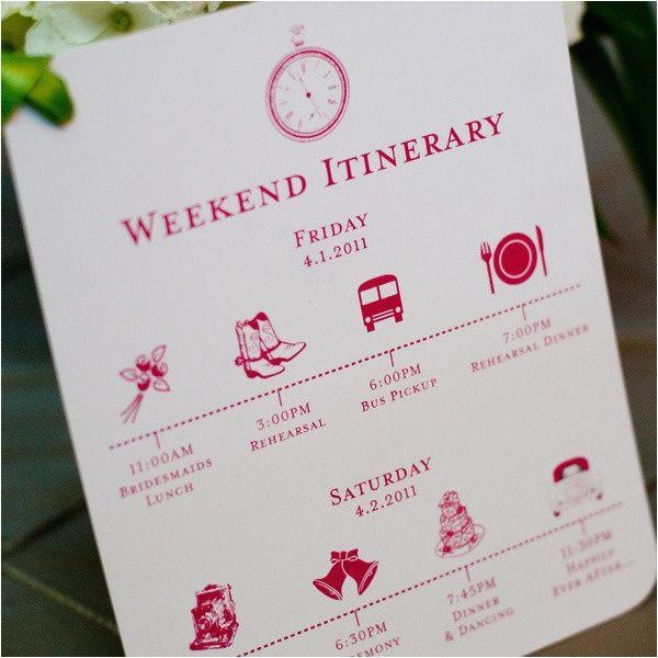 itinerary design