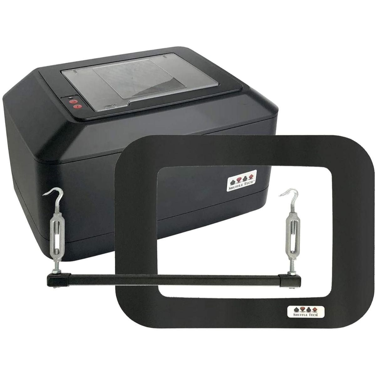 shuffle tech st1000 professional automatic card shuffler