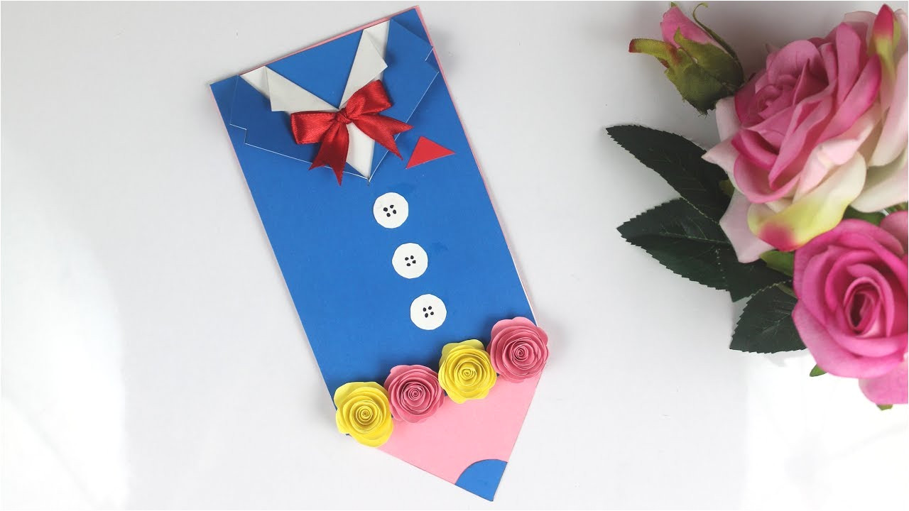 Teachers Day Card Making Youtube Diy Teacher S Day Card Easy Handmade Teacher S Day Card