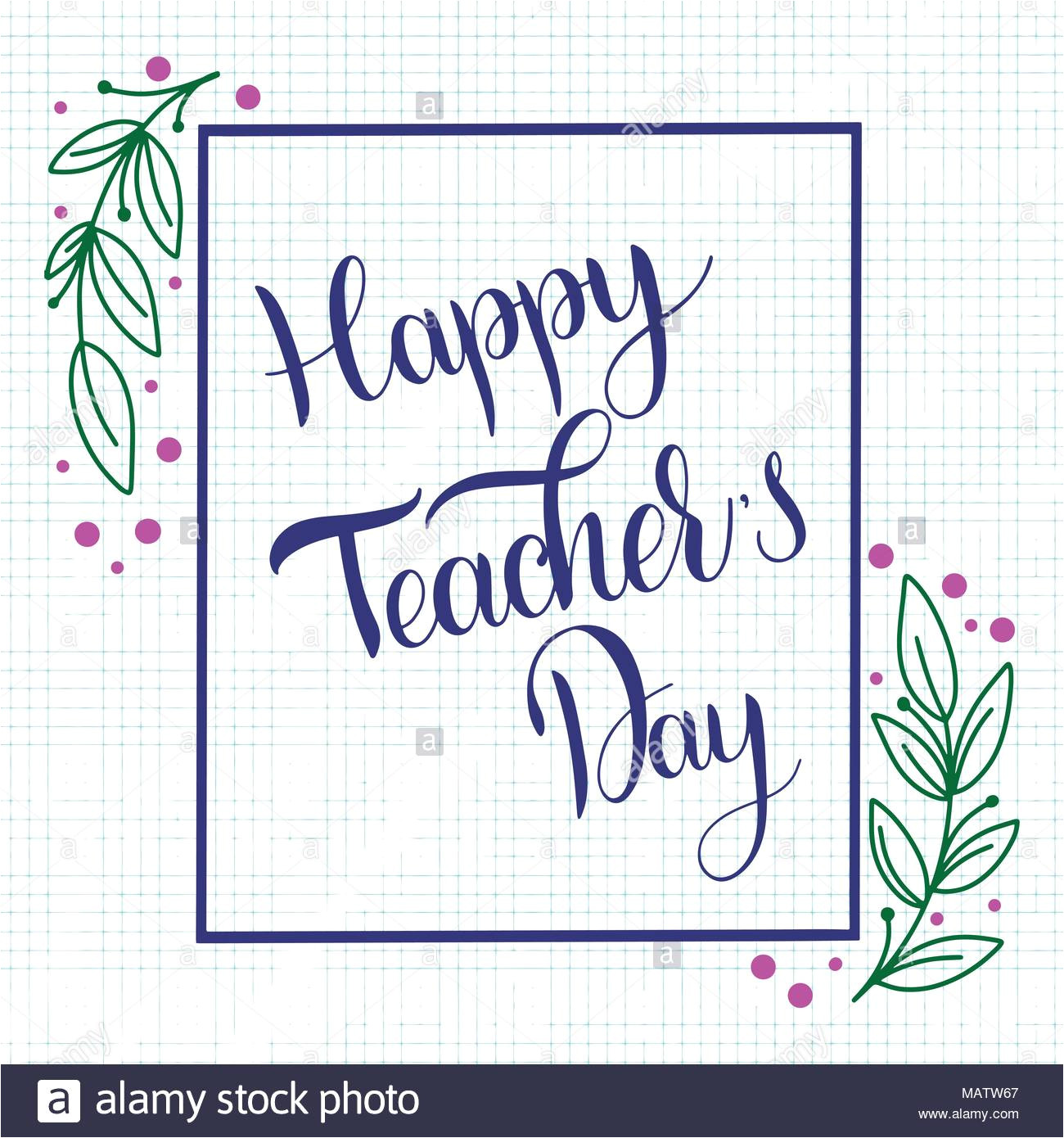 happy teacher day lettering elements for invitations posters greeting cards seasons greetings image