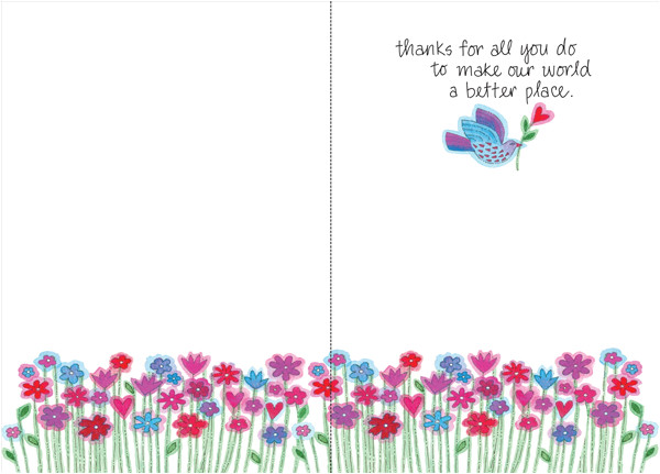 thank you volunteer cards t5302v