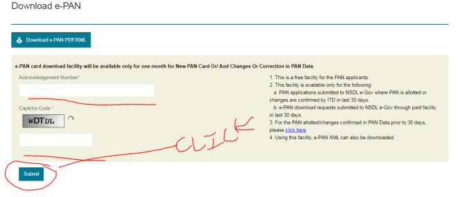 Unique Acknowledgement Number for Pan Card Pan Card Download Line कैसे करे original Pan Card