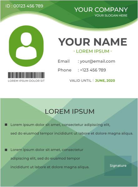 id card designing