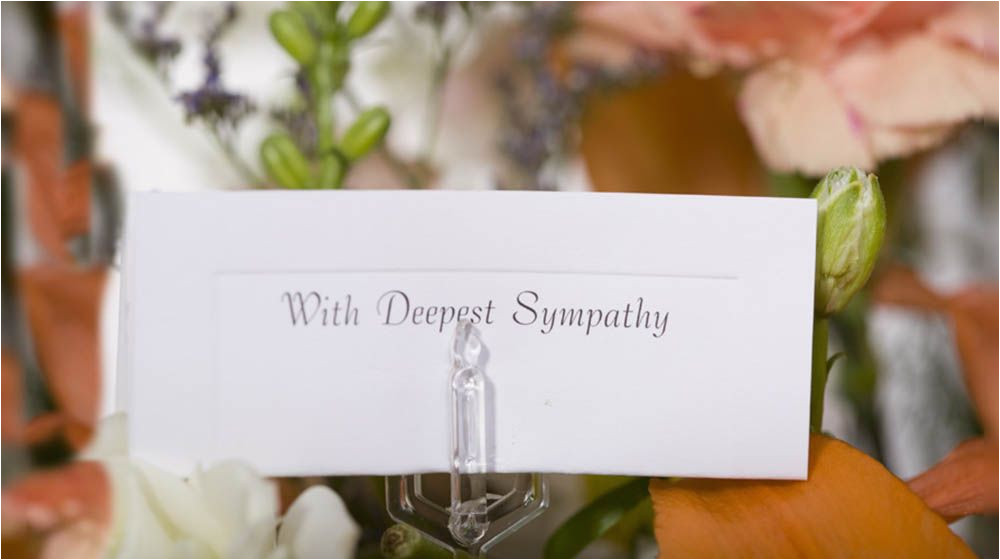 What to Say In A Funeral Flower Card Pin On Genealogy
