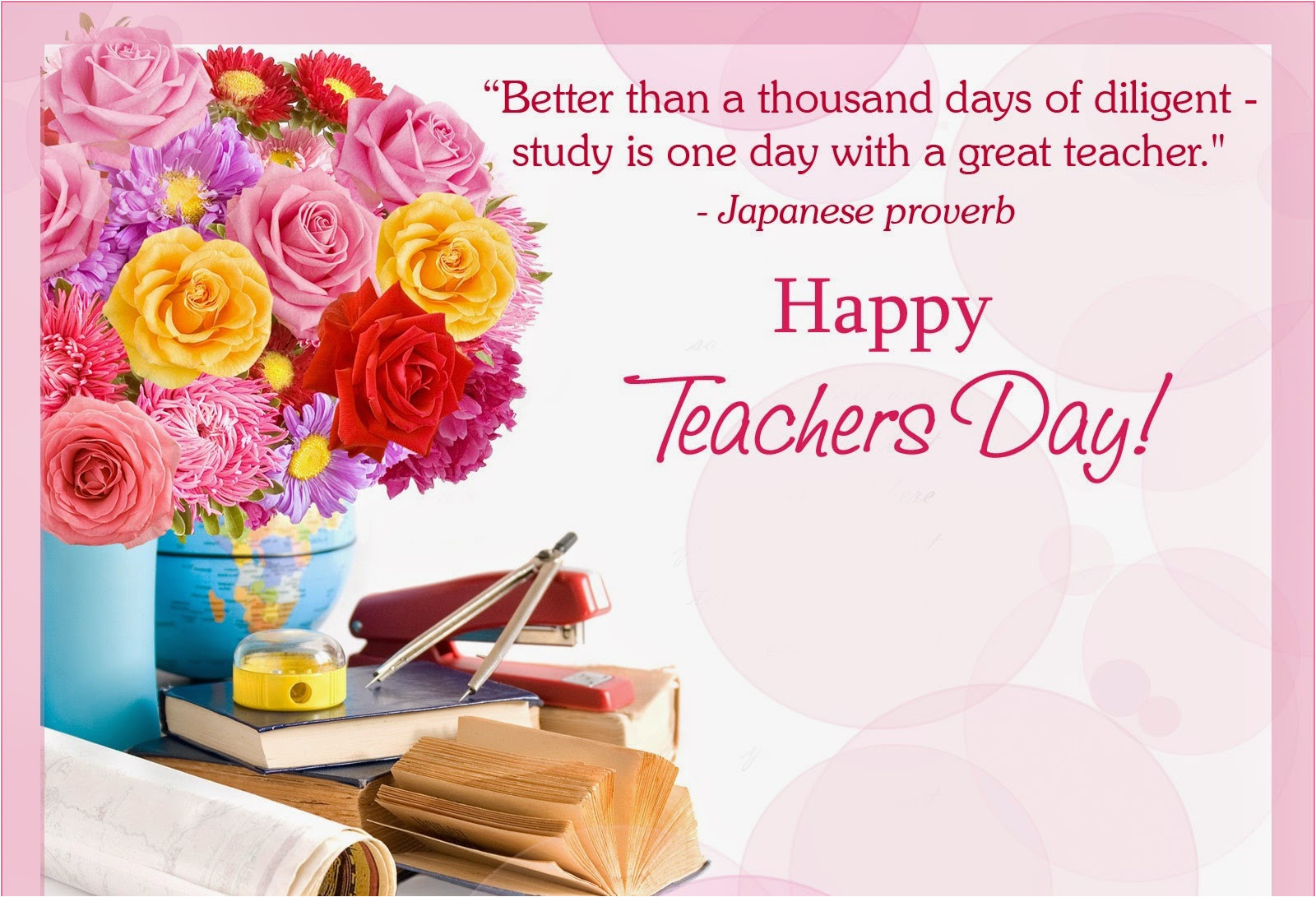 happy world teachers day messages wishes poems quotes images whatsapp status fb dp 5th oct 2015