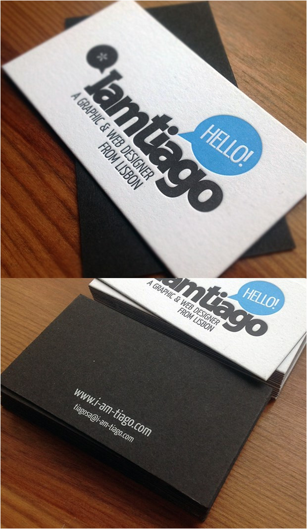 25 creative business card design inspiration