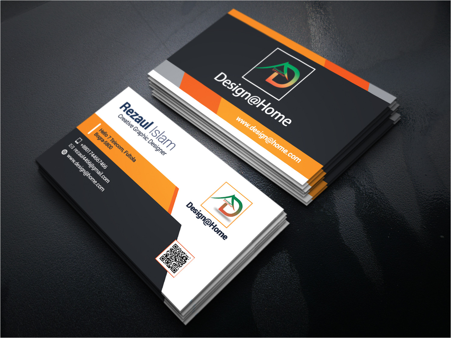 Www Creative Card Design Com Creative Business Card Design with Unlimited Revsion for