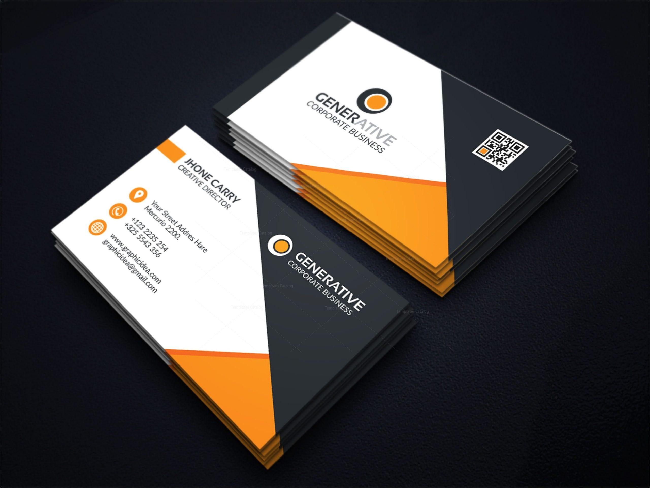 eps creative business card design template