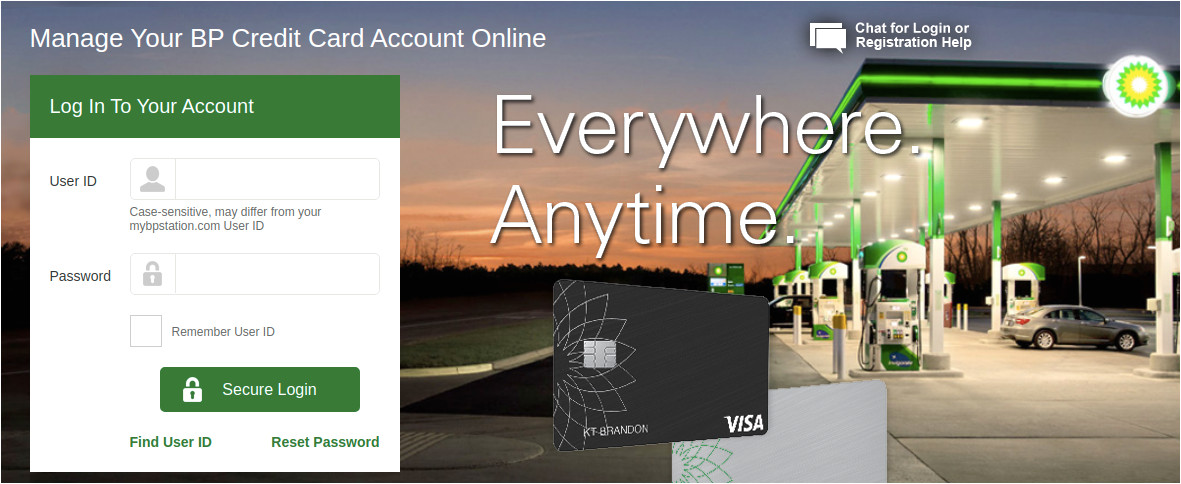 mybpcreditcard connected bp credit card account login guide