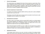 0 Hour Contract Template 18 Job Contract Templates Word Pages Docs Free