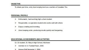 1 Page Resume Template Word 41 One Page Resume Templates Free Samples Examples